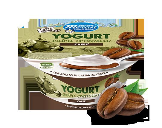Yogurt intero da latte fieno stg con caffé